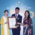 Er.Vibhav Mittal being conferred as Leading Educationalist of Punjab