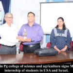 MOU for Internship of Students in USA and Israel