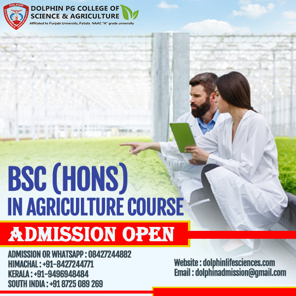 BSC Agriculture Colleges In India