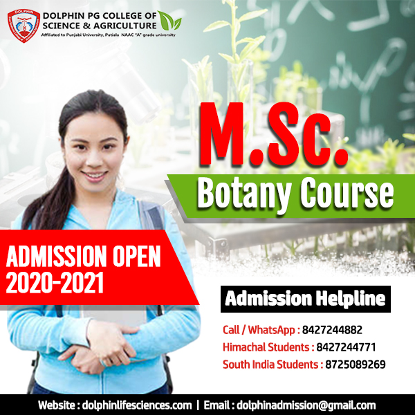 MSC Botany Colleges in India