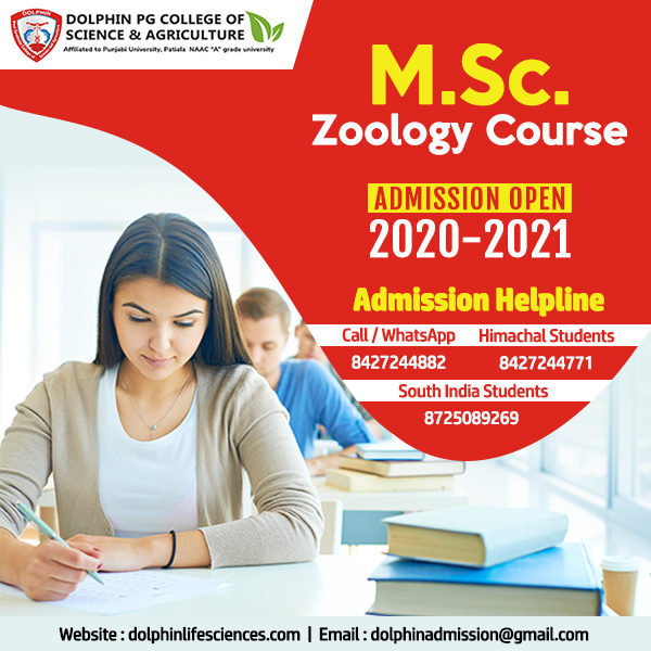MSC Zoology Colleges In India