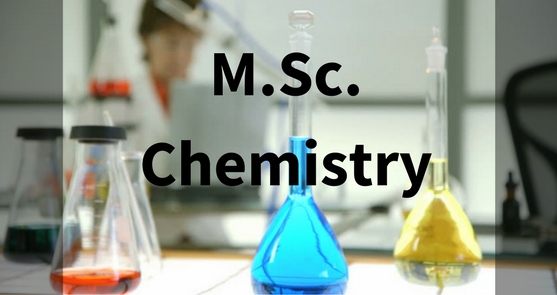 Top MSC Chemistry Colleges In India