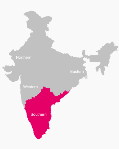 FOR SOUTH INDIA